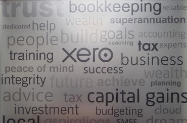 tax xero accountant cgt