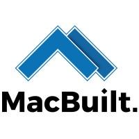 MacBuilt Logo Vert White BG
